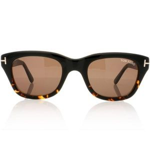 Tom Ford Snowdon Sunglasses Black/Havana
